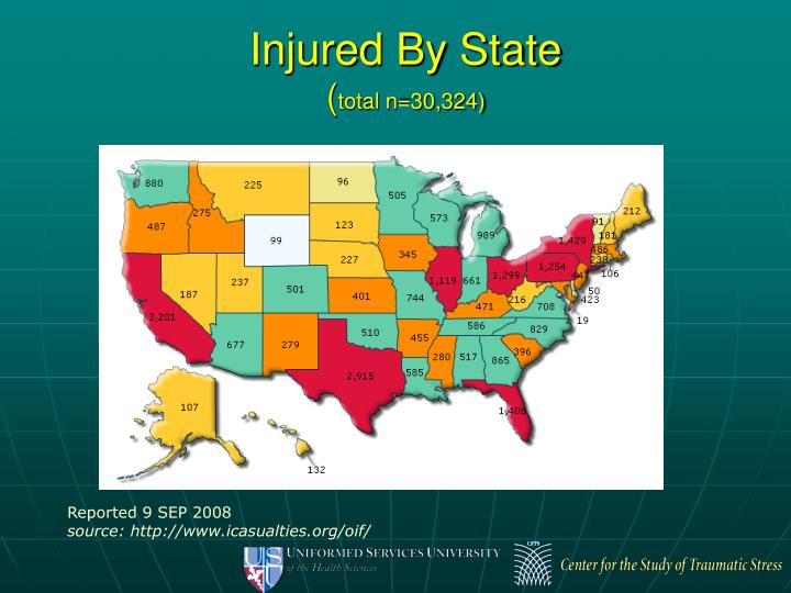 Injured By State