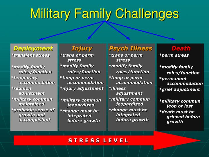 Military Family Challenges