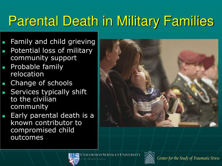 Parental Death in Military Families