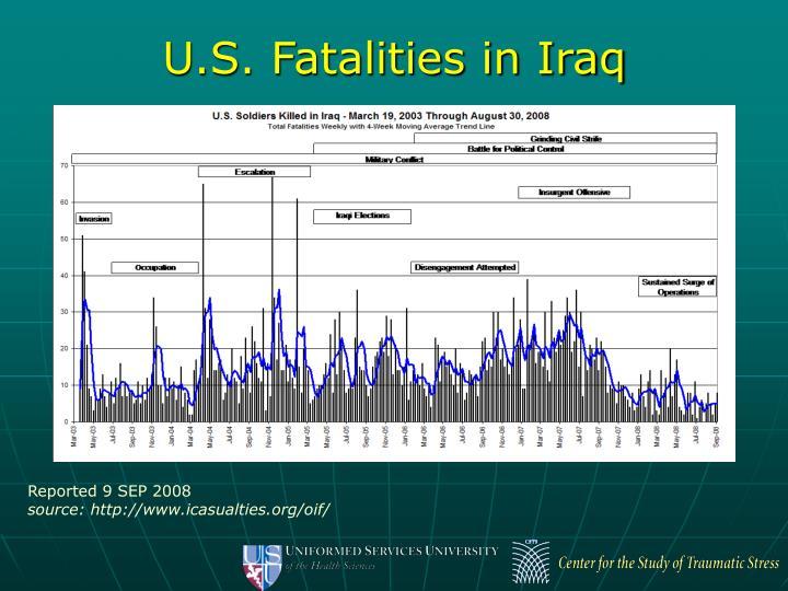 U.S. Fatalities in Iraq