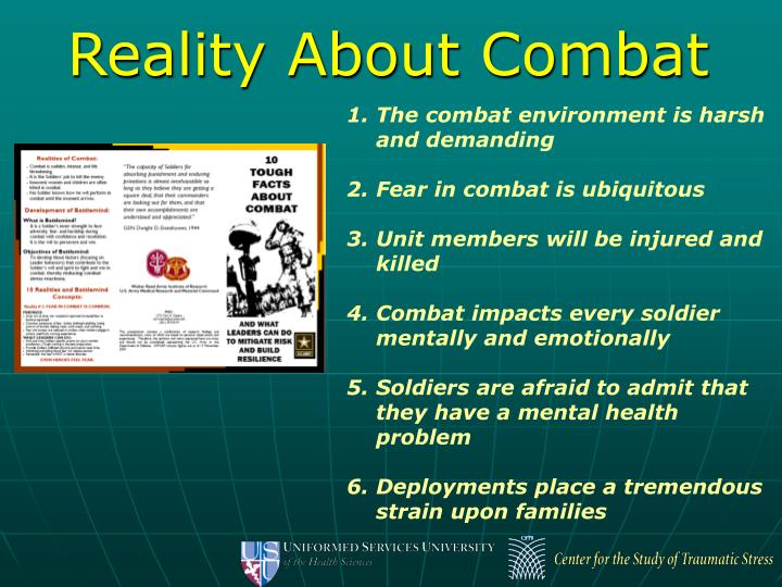 Reality About Combat
