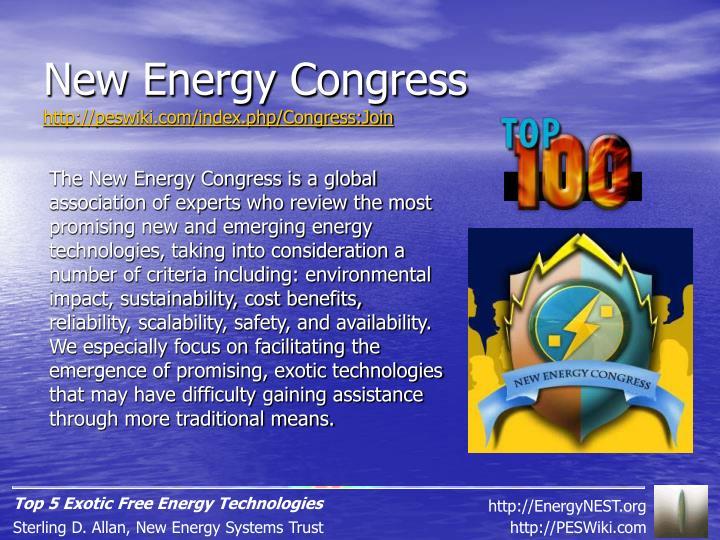 New Energy Congress