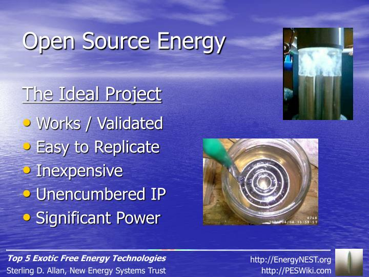 Open Source Energy