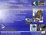 platinum invests