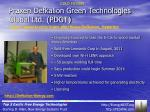 praxen defkalion green technologies global ltd pdgt