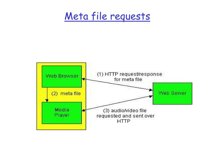 Meta file requests