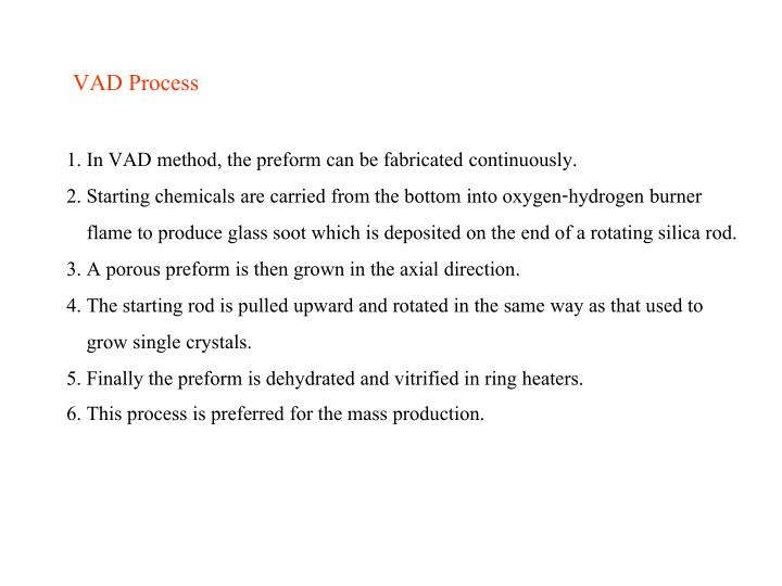 VAD Process
