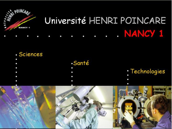 Université Henri Poincaré