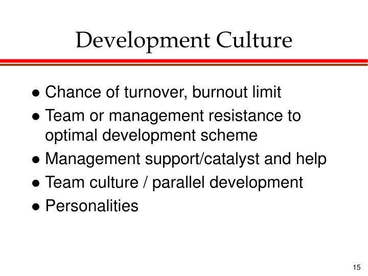 Development Culture
