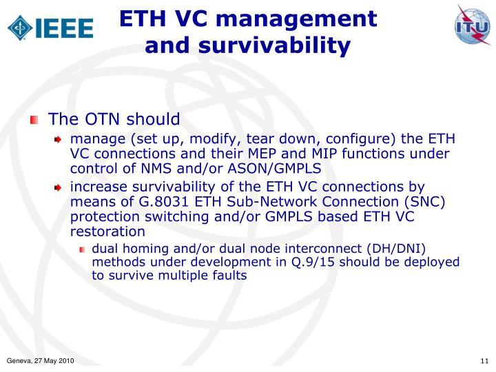 ETH VC management