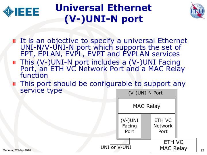 Universal Ethernet