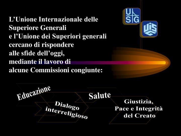 L'Unione Internazionale delle Superiore Generali
