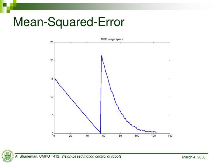 Mean-Squared-Error