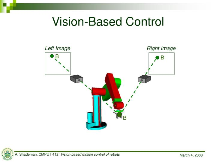 Vision based control1