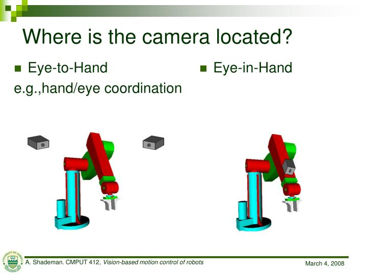 Eye-to-Hand