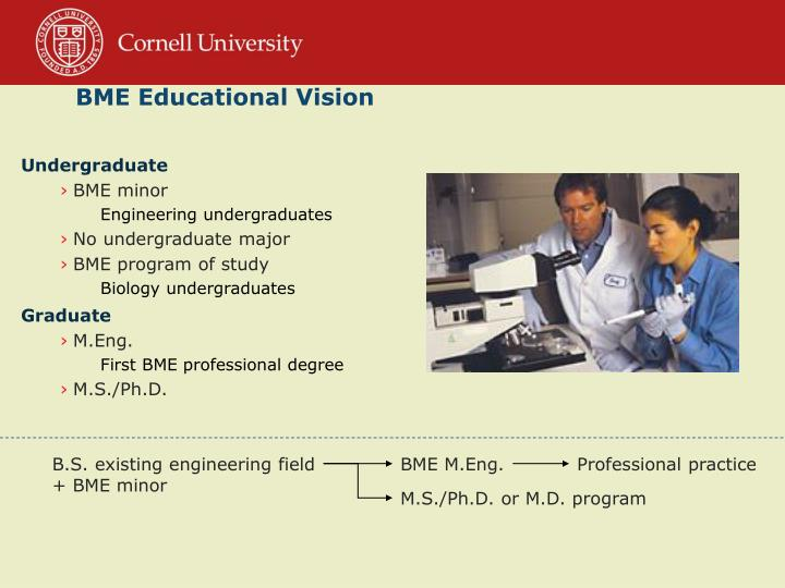 BME Educational Vision