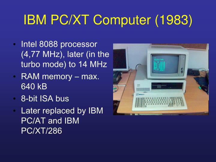IBM PC/XT Computer (1983)