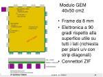 modulo gem 40x50 cm2