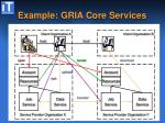 example gria core services