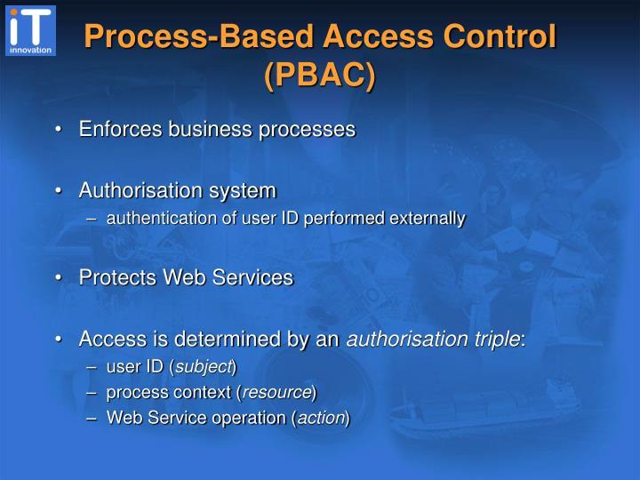 Process-Based Access Control (PBAC)