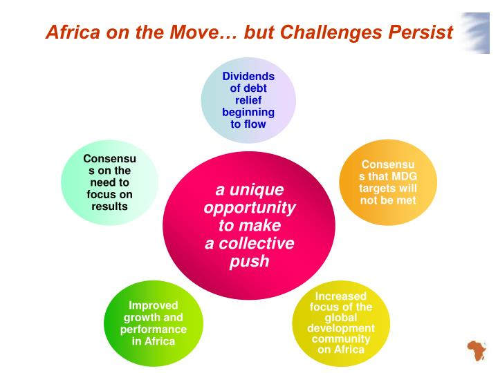 Africa on the move but challenges persist