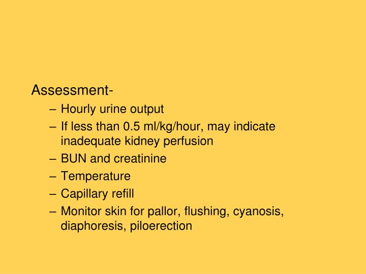 Assessment-