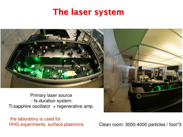 The laser system