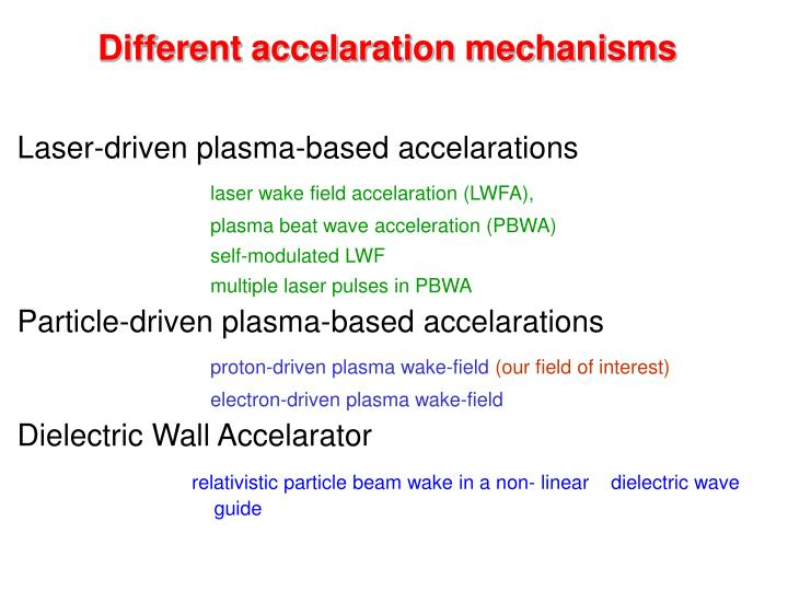 Laser-driven plasma-based accelarations