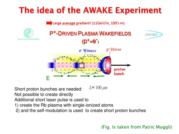 The idea of the AWAKE Experiment