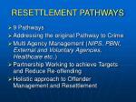 resettlement pathways