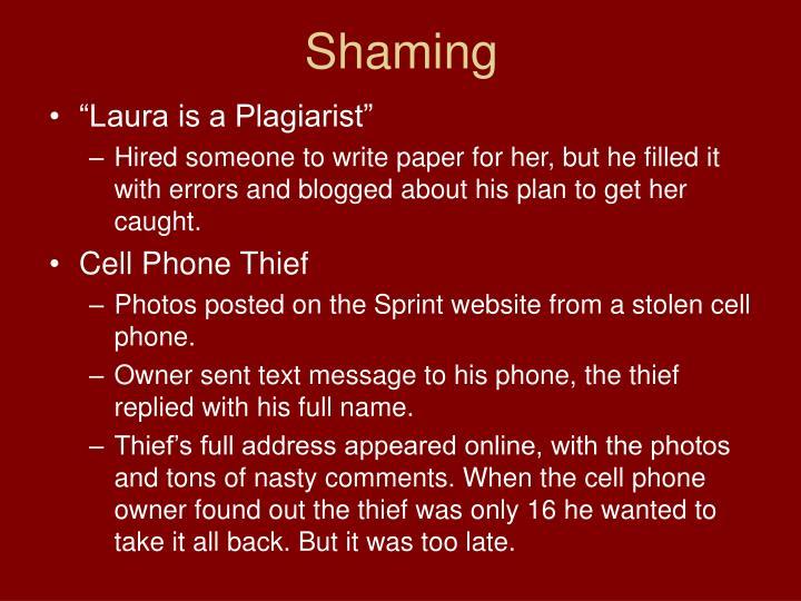 Shaming