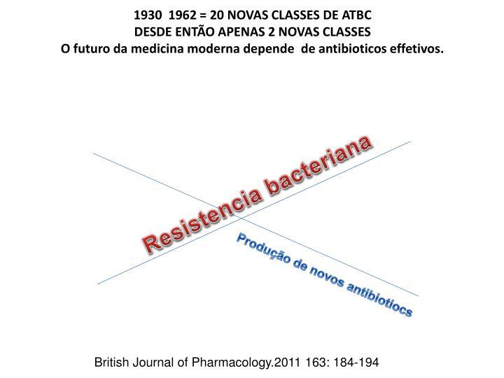 1930  1962 = 20 NOVAS CLASSES DE ATBC