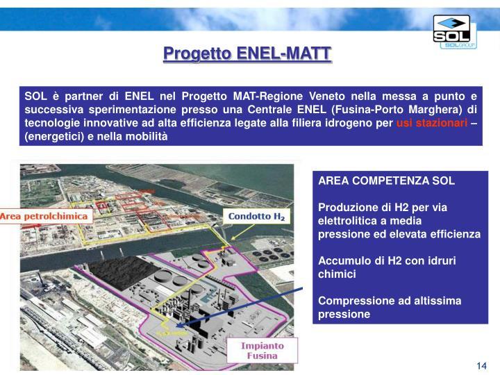 Progetto ENEL-MATT