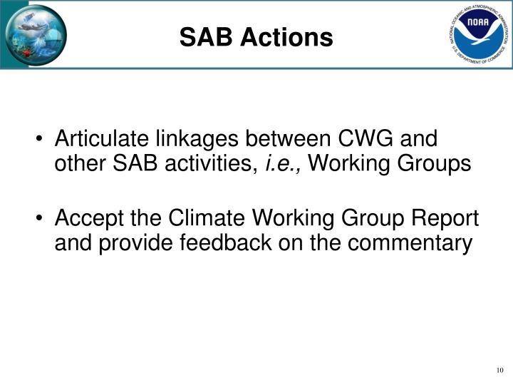 SAB Actions