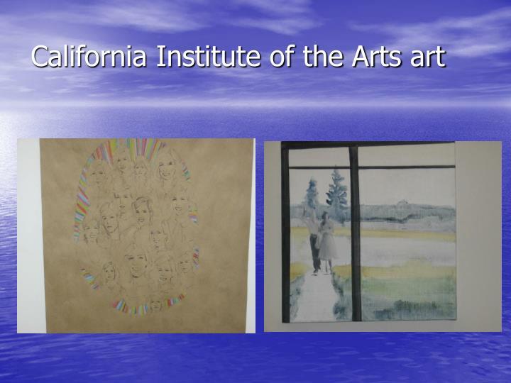 California Institute of the Arts art