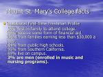 mount st mary s college facts1