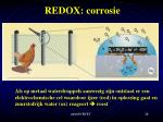 redox corrosie