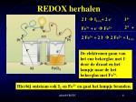 redox herhalen