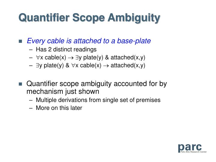 Quantifier Scope Ambiguity