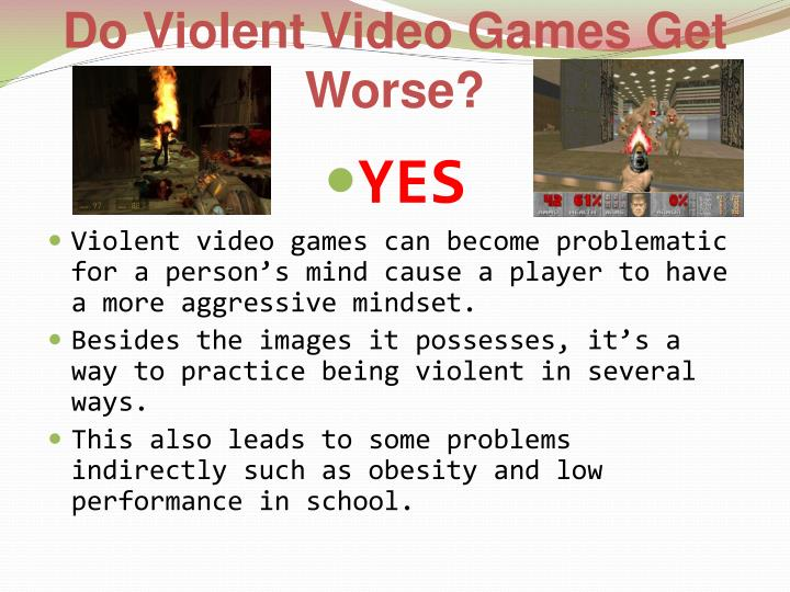Do Violent Video Games Get Worse?