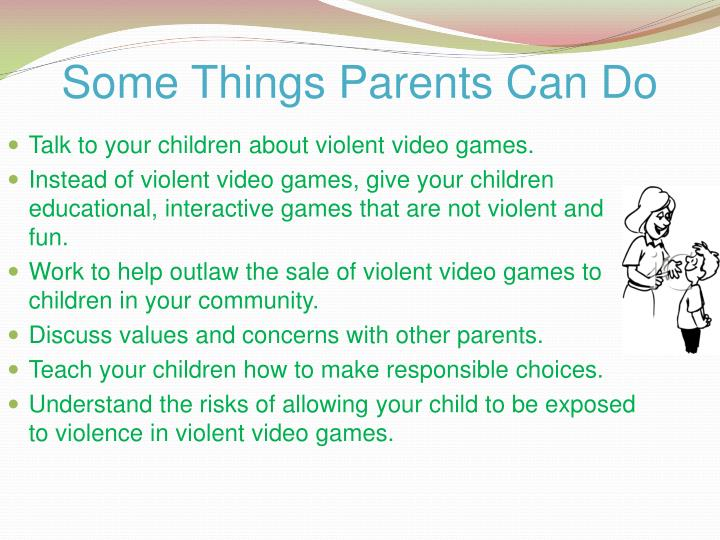 Some Things Parents Can Do