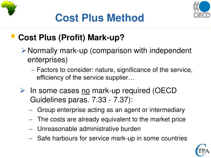 Cost Plus Method