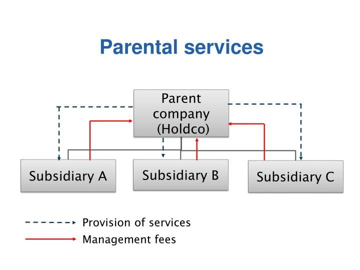 Parental services