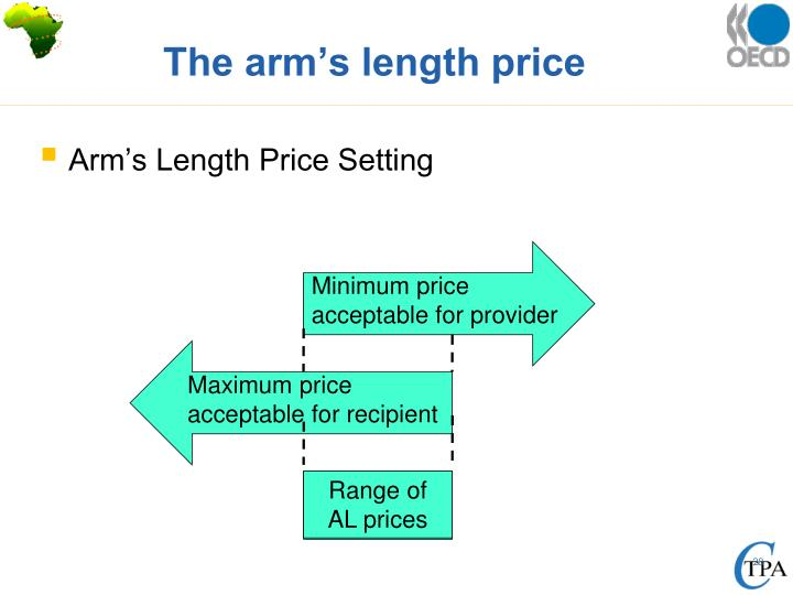 The arm's length price