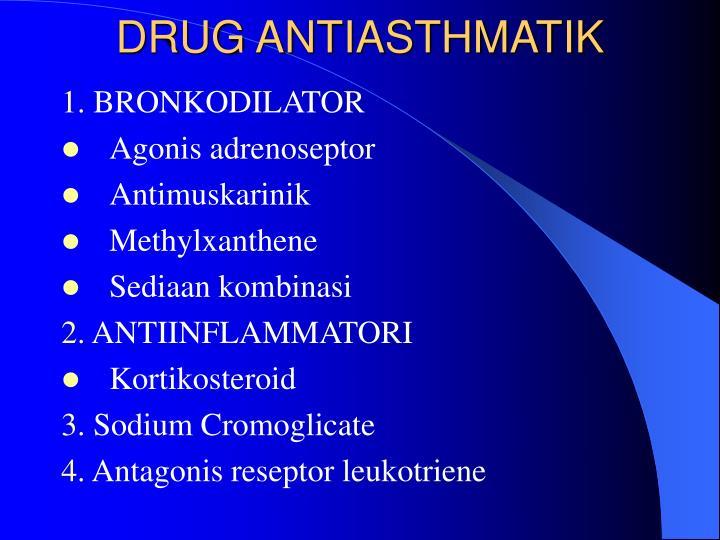 DRUG ANTIASTHMATIK