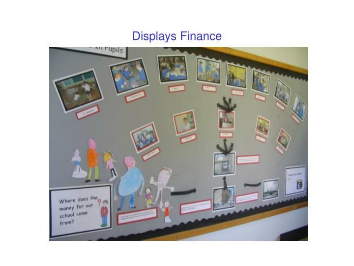 Displays Finance