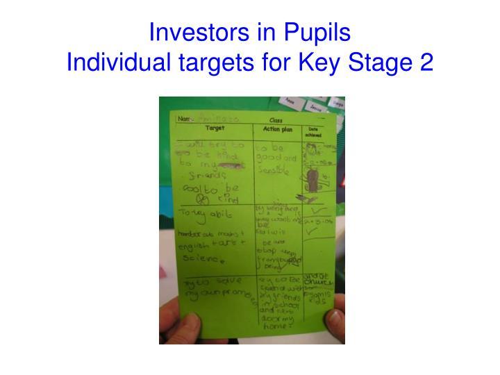 Investors in Pupils