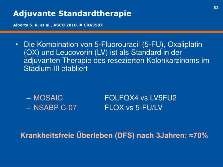 Adjuvante Standardtherapie