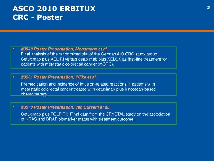 ASCO 2010 ERBITUX