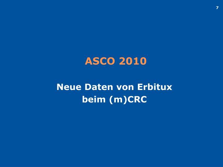 ASCO 2010